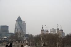 Die \'Gurke\' und der \'Tower of London\'