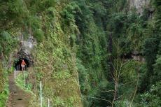 Madeira - Tunnel an Levada da Janela