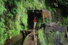 Madeira - überdachte Dusche