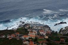 Madeira - Porto Moniz below
