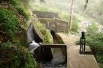 Madeira - Levada-Kreuzung