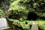 Madeira - Eingang zum Pico Ruivo Tunnel (2,4km)