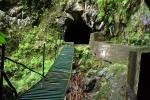 Madeira - wackelige, verrostete Brücke
