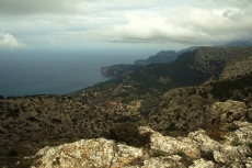 Mallorca - Blick auf Deia