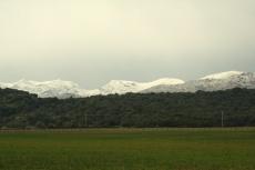 Mallorca - Schnee in der Tramuntana