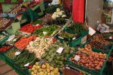 Marokko: Markthalle in Rabat
