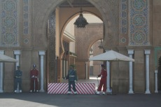 Marokko: Königspalast Rabat