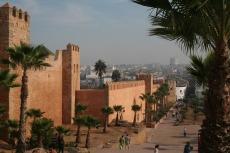 Marokko: Alte Stadtmauer von Rabat