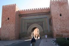 Marokko: Stadttor Meknes