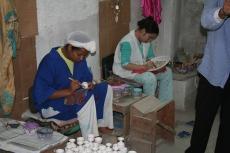 Marokko: Verzierung von Porzellan