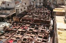 Marokko: Gerberei