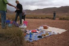 Marokko: Picknick-Pause