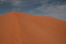 Marokko: Auf dem Dünenkamm