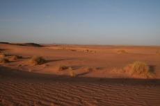 Marokko: Lange Schatten im Abendlicht