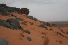 Marokko: Die Felsformation oberhalb des Nachtlagers