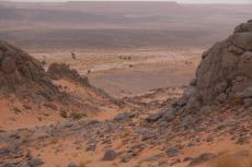 Marokko: Unten warten die Kamele