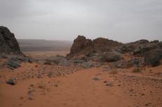 Marokko: Sandiges Hochplateau