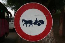 Marokko: Fuhrwerke verboten
