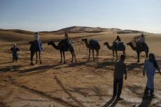Marokko: Erste Reitversuche