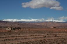 Marokko: Schneebedeckte Viertausender im Hohen Atlas
