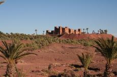 Marokko: Kasbah bei Ouarzazate