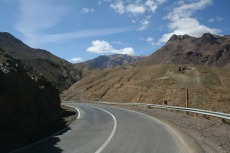 Marokko: Am Col du Tichka