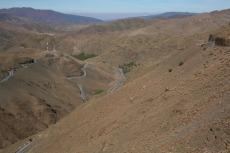 Marokko: Verschlungene Passstraße