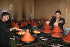 Marokko: In der Küche des Gasthauses