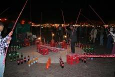 Marokko: Djemaa el Fna - Flaschenangeln