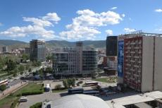 Mongolei: Ulan Bator aus dem Hotelzimmer