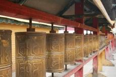 Mongolei: Gebetsmühlen im Gandan-Kloster