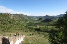 Mongolei: Blick vom Kloster Aryaval