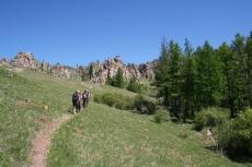Mongolei: Im Terelj-Nationalpark