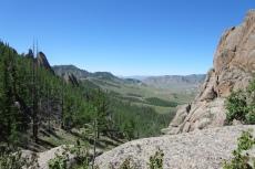 Mongolei: Weiter Blick ins Kenteigebirge