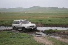 Mongolei: Jetzt wirds matschig...