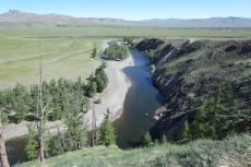 Mongolei: Über dem Orkhon