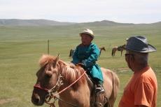 Mongolei: Mit 3 Jahren schon fest im Sattel
