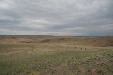 Mongolei: Viel Platz für unsere Gruppe