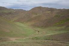 Mongolei: Blick ins Altai-Gebirge