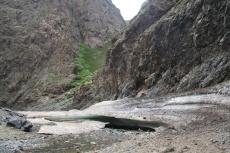 Mongolei: Beginn der Eisschicht