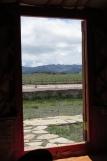 Mongolei: Blick aus der Jurte