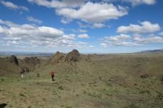 Mongolei: Wanderung in Campnähe