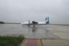 Mongolei: Mit der Fokker 50 von Dalanzadgad nach Ulan Bator