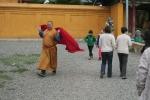 Mongolei: Mönch im Gandan-Kloster