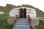 Mongolei: Die erste Jurte