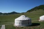 Mongolei: Ausblick von unserem Camp