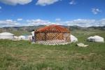 Mongolei: Jurtenbau
