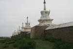 Mongolei: Klostermauer von Erdene Zuu