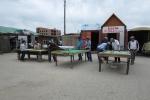 Mongolei: Freiluft-Billard in Kharkhorin