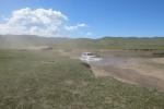 Mongolei: Mal wieder durchs Wasser